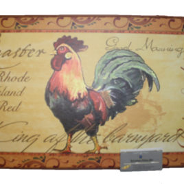 RT1903-ROOSTER 6/BOX ($6.50 EACH)